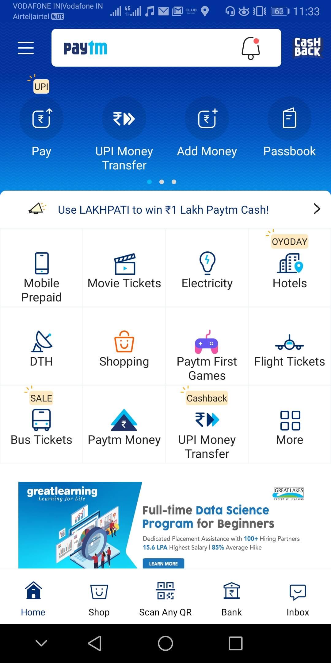 3 Best UPI Apps in India 2020